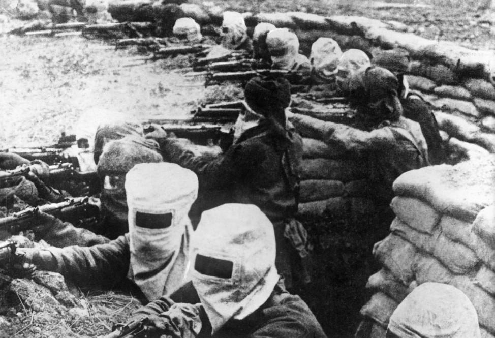 Englische Infanterie, 1917