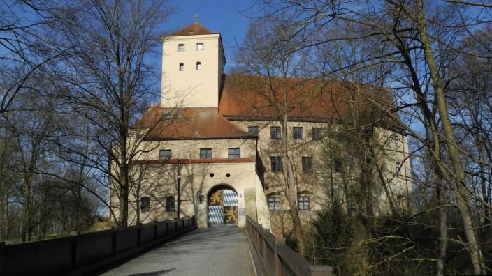 Wittelsbacher Schloss ab 1257, heutige Anlage 1552-79
