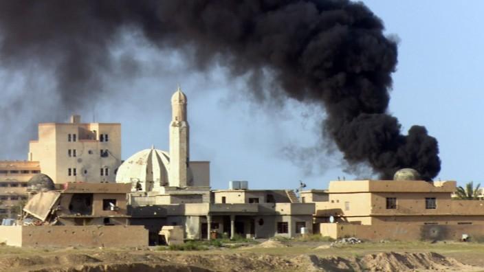 Fighting in Tikrit