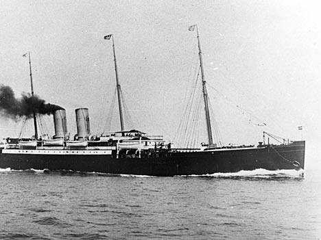 """Pauschalreise anno 1893: Dampfschiff """"Saale"""", Deutsches Schiffahrtsmuseum"""
