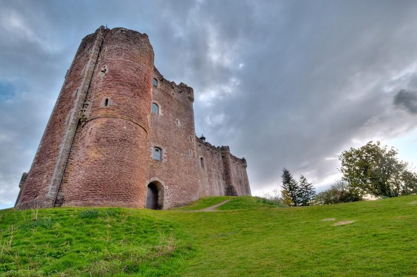 """Doune Castle, Schottland; """"Game of Thrones"""" - Drehort"""