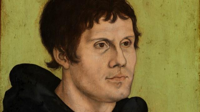 Lucas Cranach Luther als Augustinermönch