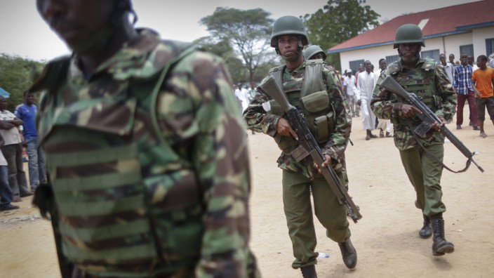 19-year-old woman rescued 2 days after the attack on Kenyan unive