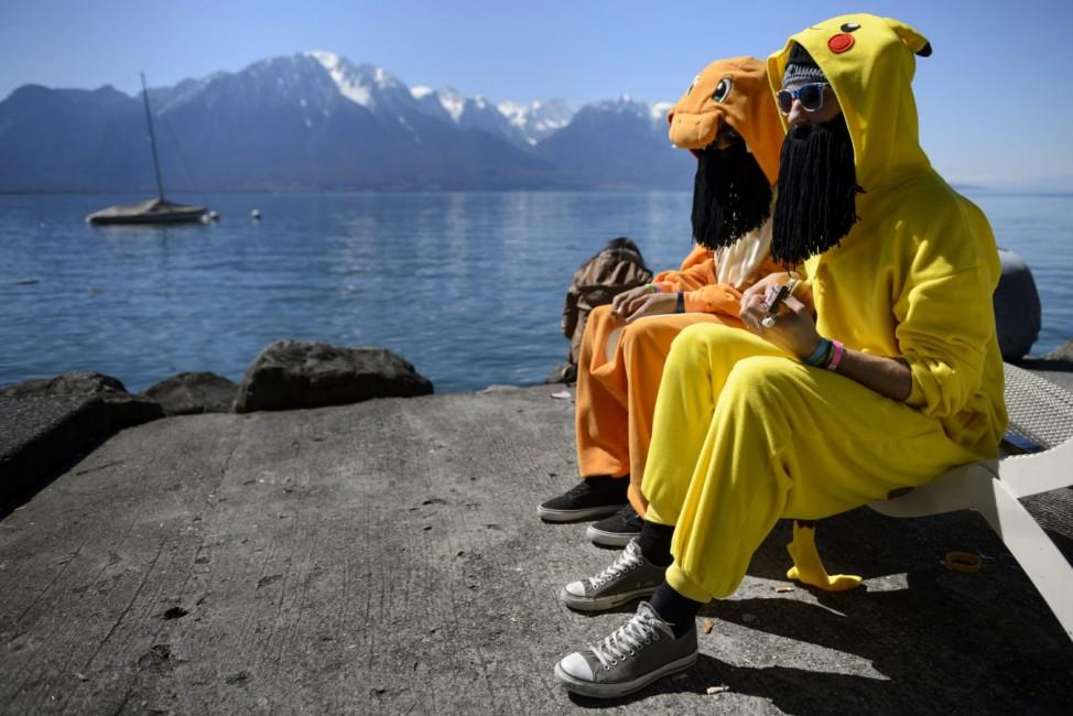 Polymanga convention in Montreux, Switzerland