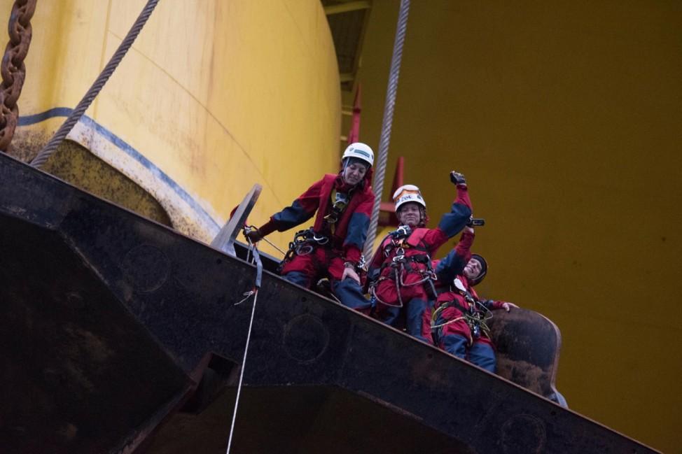 Greenpeace Polar Pioneer - nur zur einmaligen Verwendung (aktuelle Berichterstattung)