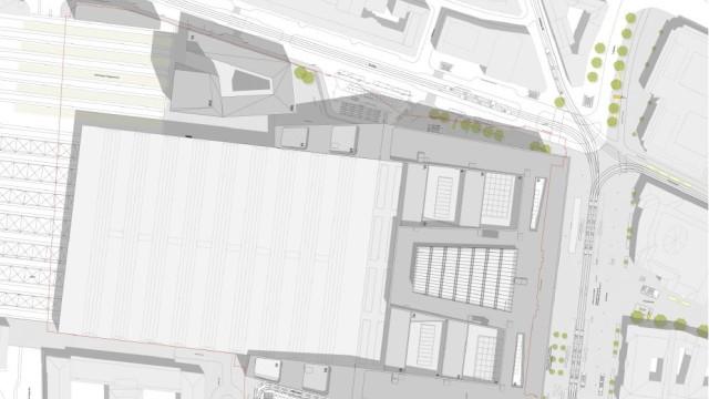 Pläne der Bahn: Hauptbahnhof München, Pläne, Entwürfe