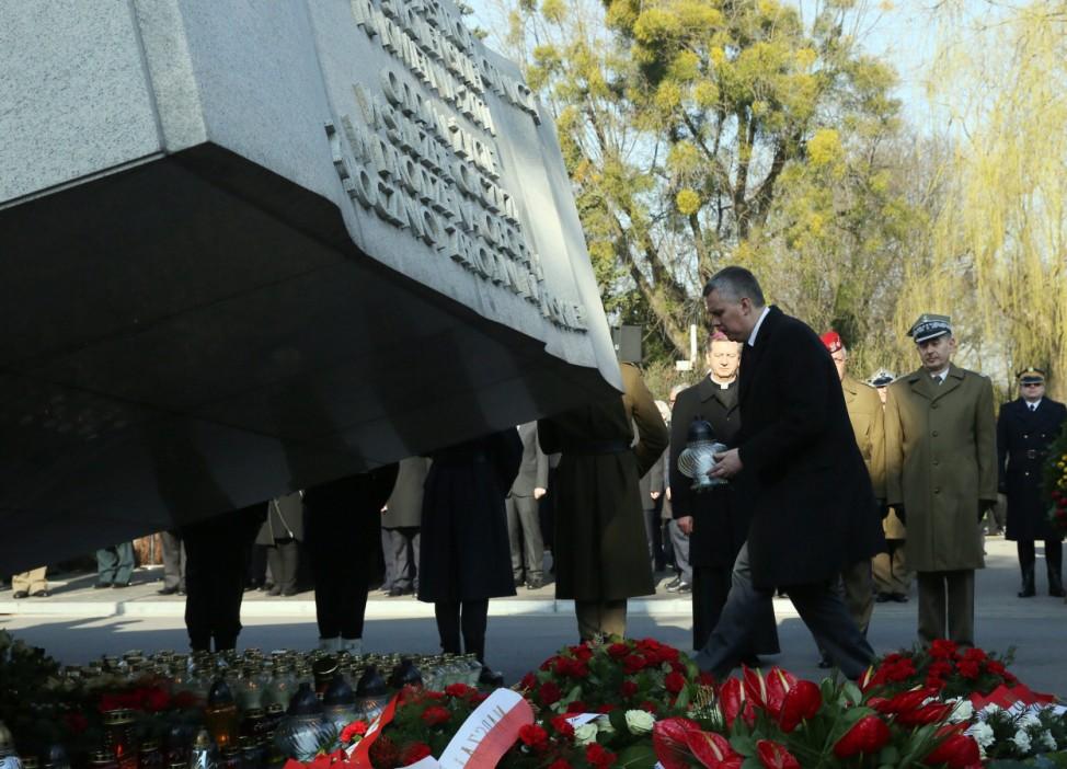5th anniversary of the Polish presidential plane crash in Smolens