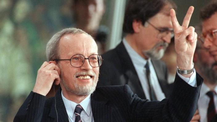 Wahlsieger de Maiziere 1990
