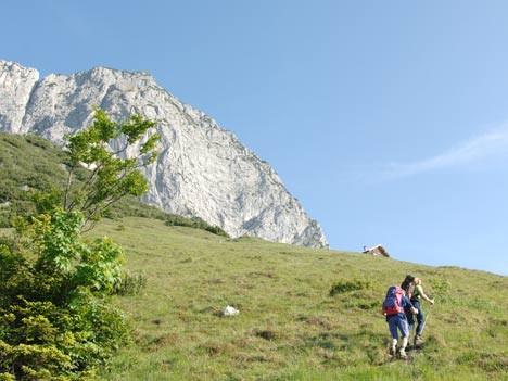 Klettersteig: Kräftemessen am Untersberg, Stefan Herbke