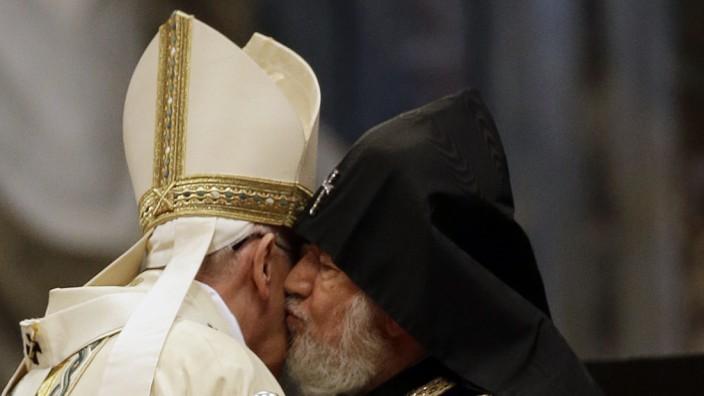 Karekin II, Francis