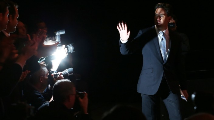 Ed Miliband Launches Labour Party Election Manifesto