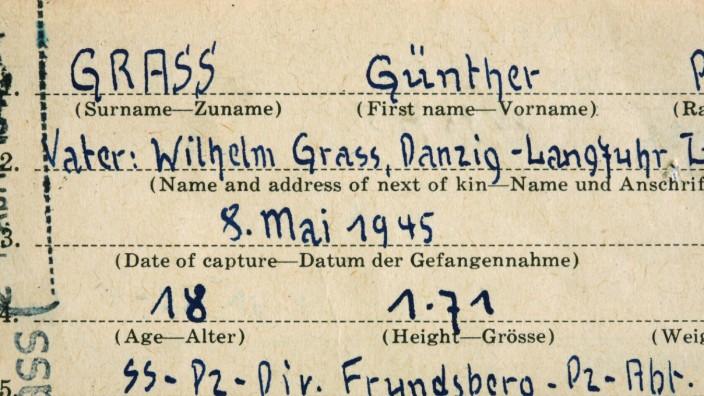 Jahresrückblick - Dokumente über SS-Vergangenheit von Günter Grass