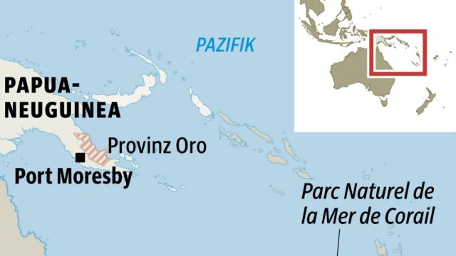 Papua-Neuguinea Neukaledonien Pazifik Reise