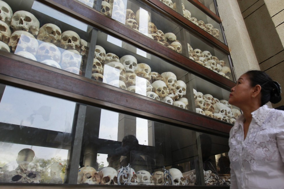 The fortieth anniversary of the Khmer Rouge Victory Day