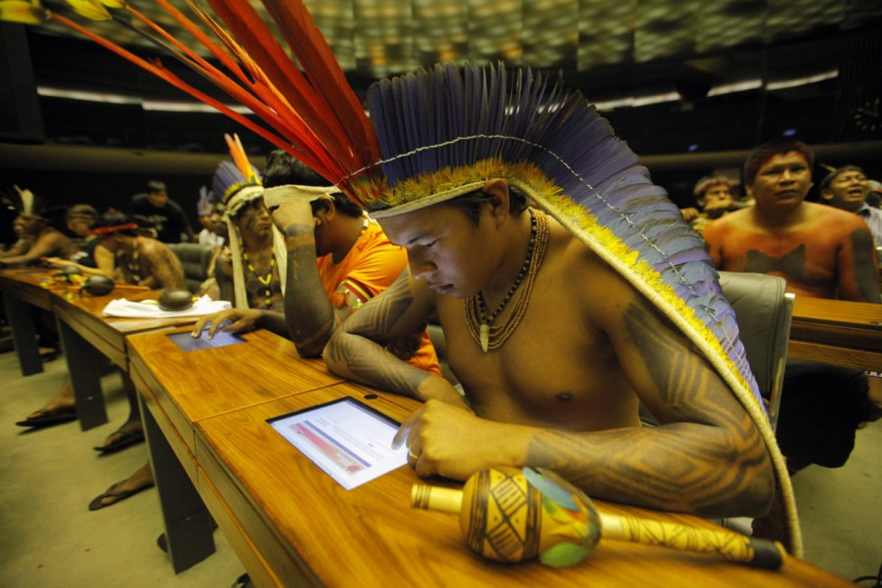 National Indigenous People's Day commemoration in Brazilia