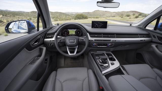 Der Innenraum des neuen Audi Q7.