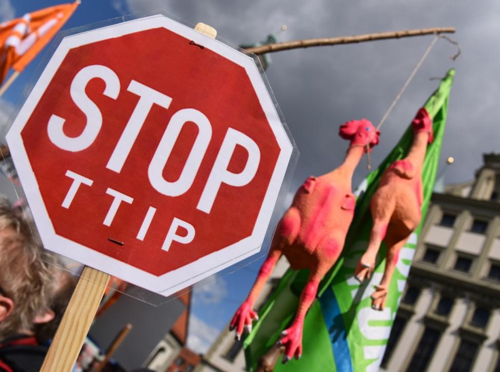 Bayernweite Aktionen gegen das geplante Freihandelsabkommen TTIP