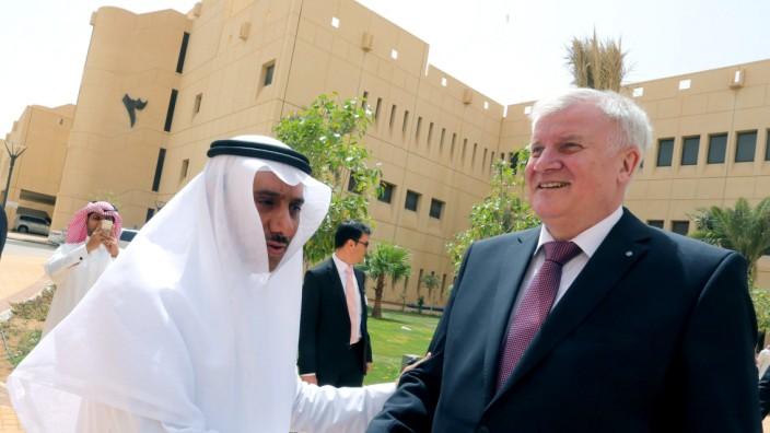 Seehofer in Saudi Arabien