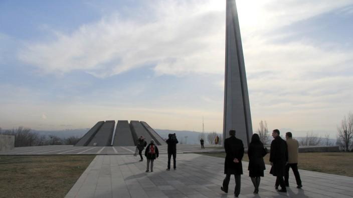 Armenien - Genozid-Gedenkstätte in Eriwan