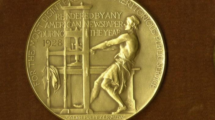 Bekanntgabe der Pulitzer-Preisträger