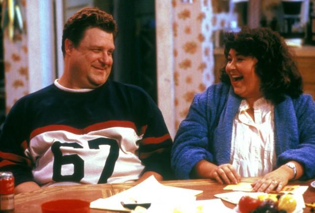 Roseanne: Roseanne Barr und John Goodman