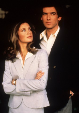 Remington Steele: Pierce Brosnan und Stephanie Zimbalist