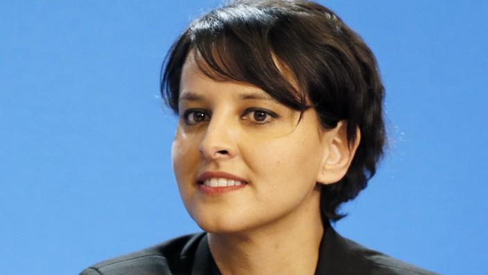 Frankreich: Najat Vallaud-Belkacem ist seit August 2014 Ministerin für nationale Erziehung, höhere Bildung und Forschung.