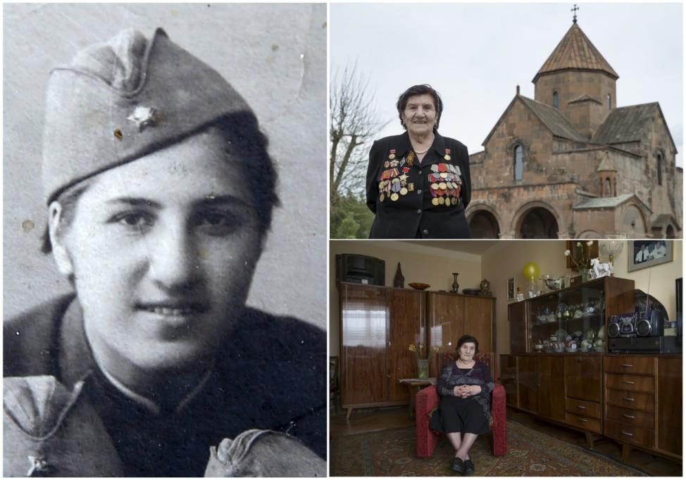 Wider Image: Soviet WWII Veterans