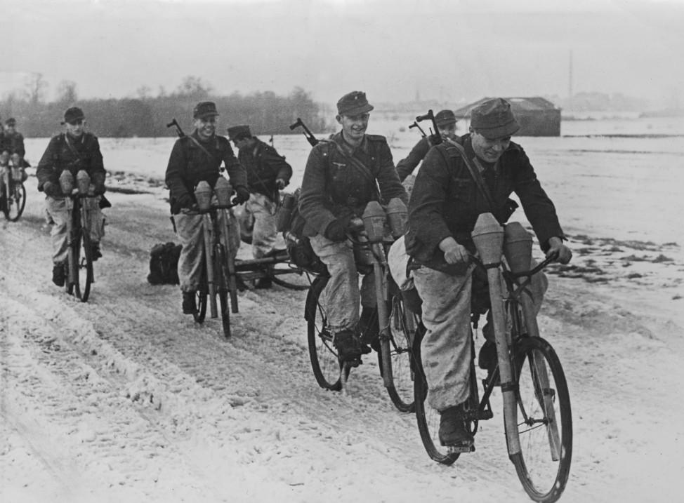 Deutsche Soldaten an der Oderfront, 1945; Ostfront WW2