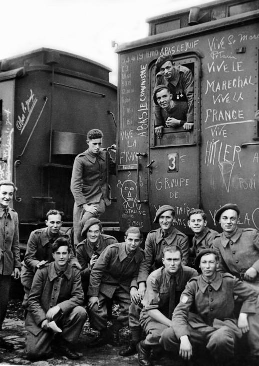 FranzËÜsische Freiwillige f¸r den Krieg an der Ostfront, 1942; Ostfront WW2