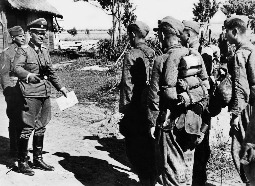 Galizische Freiwillige der Waffen-SS an der Ostfront, 1944; Ostfront WW2