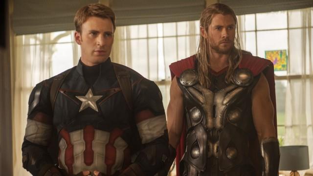 The Avengers 2: Thor und Captain America