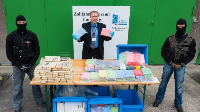 Größte Kokainsicherstellung der letzten Jahre in Hamburg