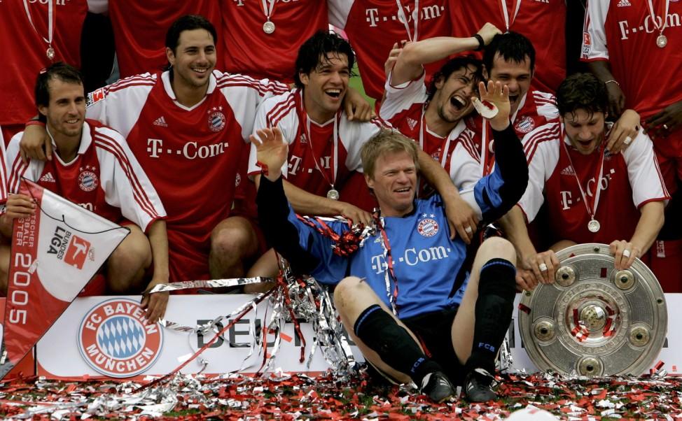 Bayern Munich v 1.FC Nuremberg; meister biga