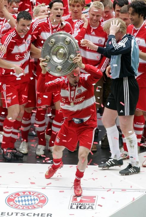 Bayern Munich v Hertha BSC Berlin - Bundesliga; Ribery