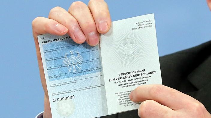 Ersatz-Personalausweis