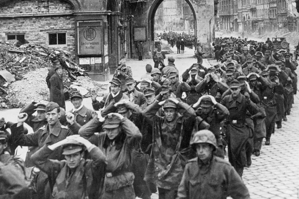 Kapitulation der Wehrmacht, 1945