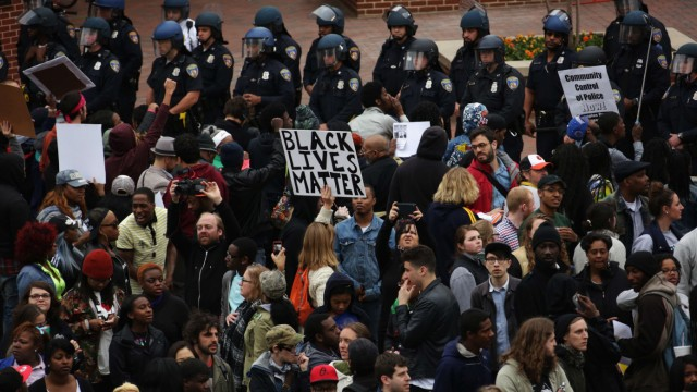 Protests Continue After Death Of Baltimore Man While In Police Custody