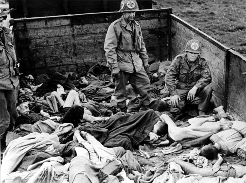 Befreiung des Konzentrationslagers Dachau im April 1945