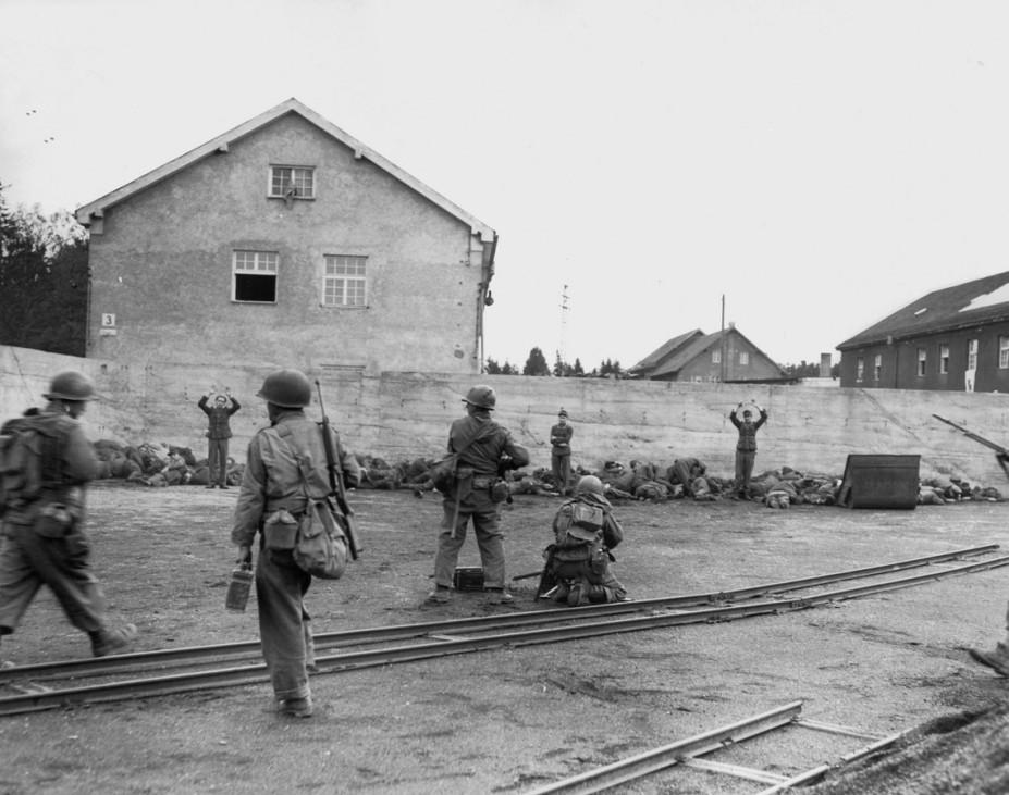 Befreiung des KZ Dachau, 1945