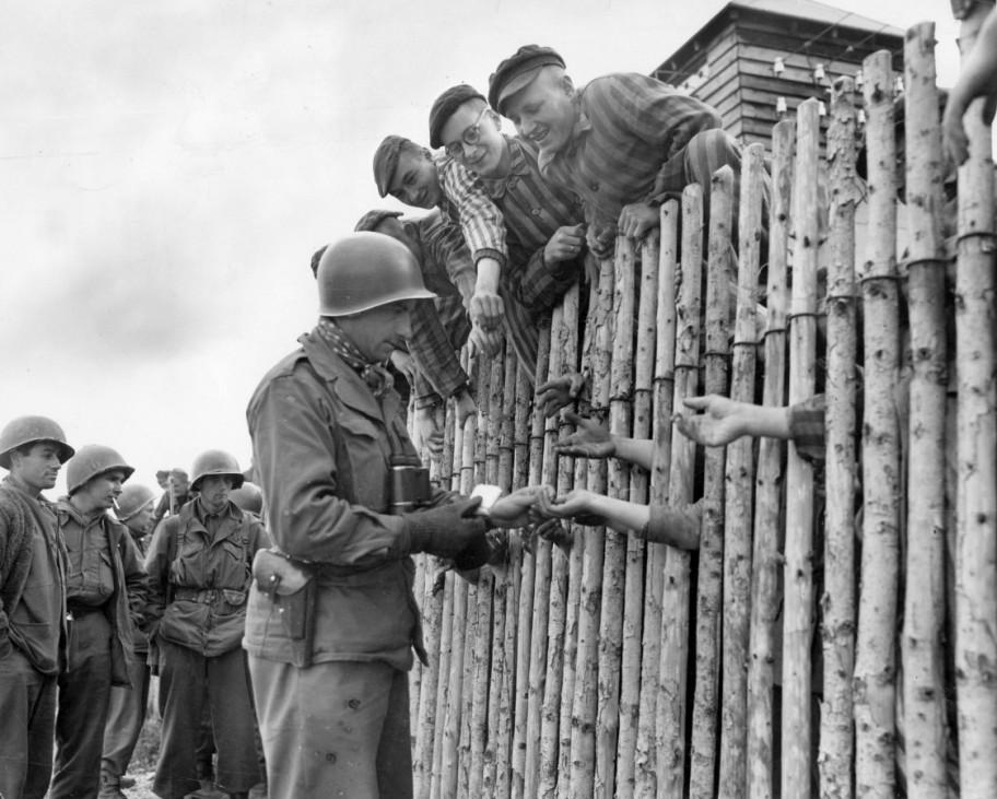 Befreiung des Konzentrationslagers Buchenwald, 1945