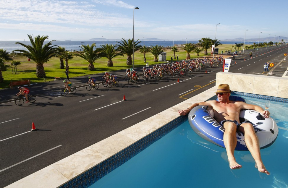 World Triathlon series in Cape Town