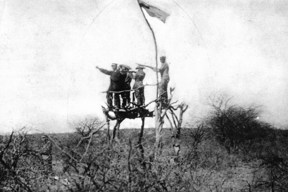 Deutsch-Südwestafrika 1904-1905: Kämpfe gegen Hottentotten und Hereros