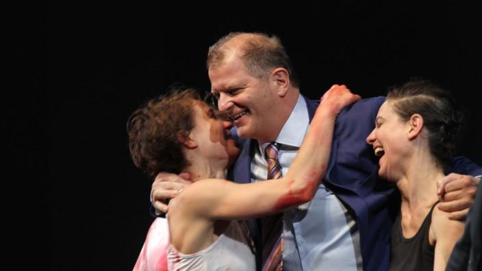 """Premiere von """"Faust"""" im Residenztheater in München, 2014"""