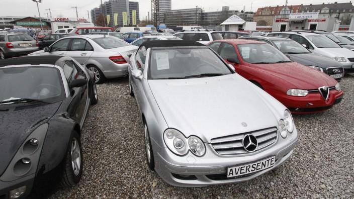 Gebrauchtwagenhandel in München, 2013