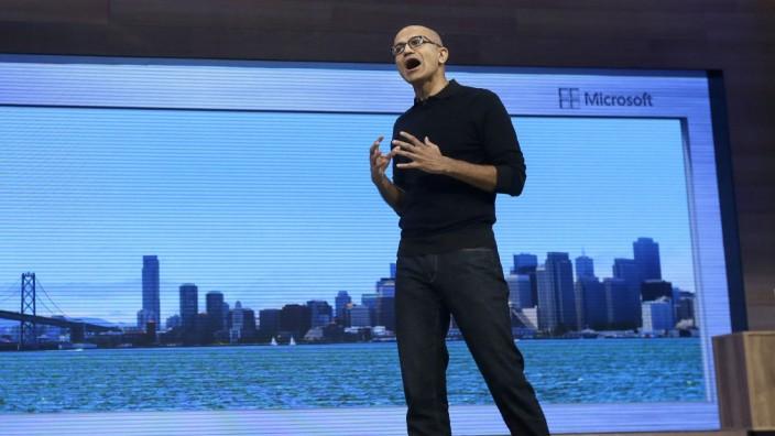 Satya Nadella Microsoft Windows 10 Continuum