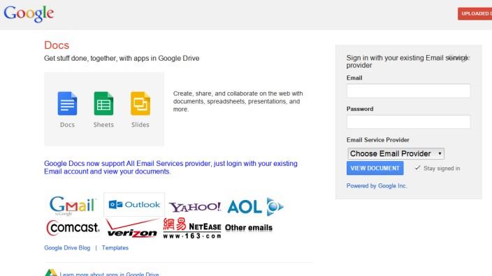 Google Phishing Schutz
