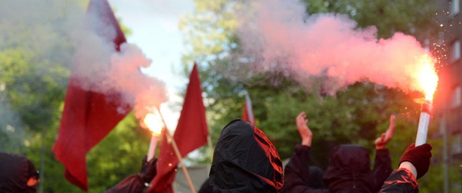 1. Mai in Berlin - Demonstrationen