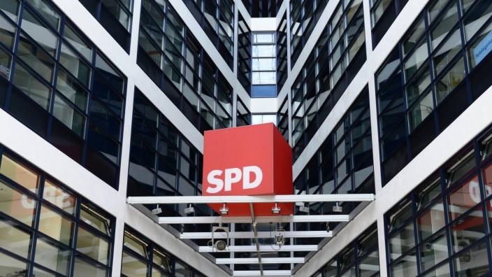 Willy Brandt Haus SPD Zentrale Bundeshauptstadt Berlin Deutschland Europa iblebo03963058 jpg