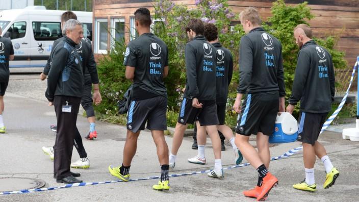 vl TSV 1860 Muenchen TSV 1860 Muenchen spontanes Geheim Training nach 0 3 gegen Union Berlin TSV 1